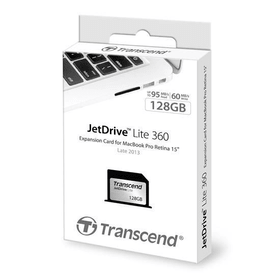 TC JetDrive Lite 360 - 128GB pour MacBook Pro R 15""