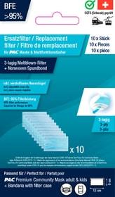 10 Filter Pack Adults Filtre P.A.C. 460544999941 Taille one size Couleur bleu claire Photo no. 1