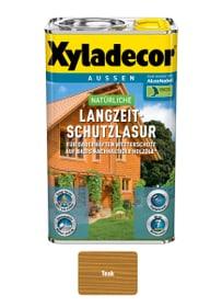natürliche Langzeitschutzlasur Teak 2.5 l XYLADECOR 661778300000 Farbe Teak Inhalt 2.5 l Bild Nr. 1