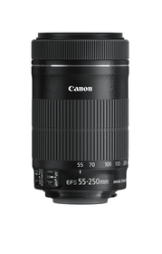 EF-S 55-250mm f4-5.6 IS STM  (Import) Objectif Canon 793426300000 Photo no. 1