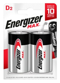 MAX D/LR20 2p. Batterie Energizer 704756900000 Photo no. 1