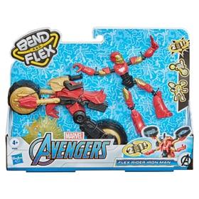 Avengers Bend & Flex Iron Man Figure giocattolo Marvel 748674500000 N. figura 1