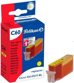 C60 cartuccia d'inchiostro giallo