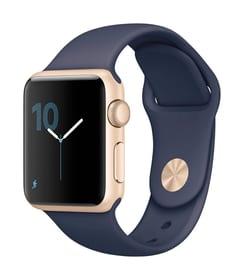Watch S1 38mm Alu Gold Sport Midnight Blue Apple 79818040000017 Photo n°. 1