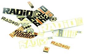 Kleber-Set Radio 15 Sticker 9000037876 Bild Nr. 1
