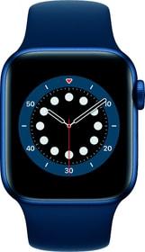 Watch Series 6 GPS 40mm Blue Aluminium Deep Navy Sport Band Smartwatch Apple 785300155503 Bild Nr. 1