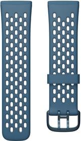 Versa 3/Sense Sportarmband Sapphir/Frost Grey Large Armband Fitbit 785300156874 Bild Nr. 1
