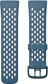 Versa 3/Sense Sportarmband Sapphir/Frost Grey Small Armband Fitbit 785300156873 Bild Nr. 1