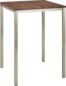 ALEXIS II Table de bar 402399115004 Dimensions L: 80.0 cm x P: 80.0 cm x H: 110.0 cm Couleur Noyer Photo no. 1