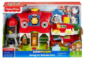 Les Animaux de la Ferme Little People (F) Giochi educativi Fisher-Price 747316490100 N. figura 1
