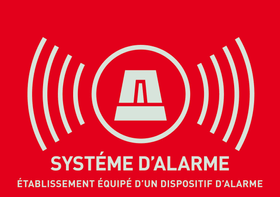 Sticker allarme