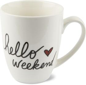Tasse Hello Weekend, 390ml Cucina & Tavola 703642500000 Photo no. 1