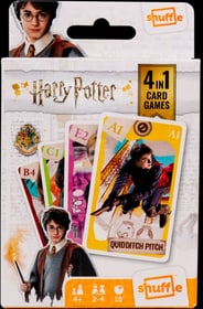 Harry Potter 4in1 Gesellschaftsspiel 748969300000 Bild Nr. 1