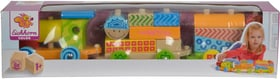 Color Holzzug, 3 tlg. Zug mit 17 Bausteine (FSC®) Spielfahrzeug Eichhorn 746317400000 Bild Nr. 1