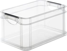 Systembox 15l, Kunststoff (PP) BPA-frei, transparent, A4 Aufbewahrungsbox Rotho 603480000000 Bild Nr. 1
