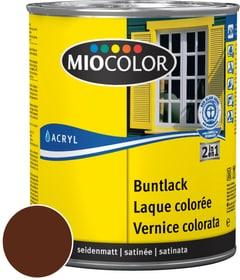 Acryl Vernice colorata satinata Marrone cioccolato 750 ml Miocolor 660556900000 Colore Marrone cioccolato Contenuto 750.0 ml N. figura 1
