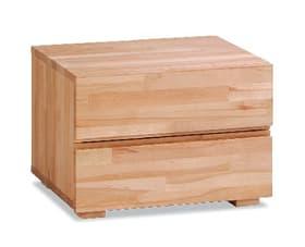 DUPLA Table de chevet HASENA 403179485012 Dimensions L: 48.0 cm x P: 40.0 cm x H: 35.0 cm Couleur Cœur de hêtre Photo no. 1