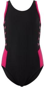 Boom Logo Splice Muscleback Badeanzug Speedo 466830014020 Grösse 140 Farbe schwarz Bild-Nr. 1