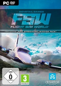 PC - Flight Sim World (inkl. Mission Pack) D Box 785300132640 Photo no. 1