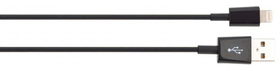 Charge & Sync 30pin 1m nero Cavo XQISIT 798018500000 N. figura 1