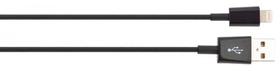 Charge & Sync Câble de charge et de données Lightning 1m noir Câble XQISIT 798018500000 Photo no. 1