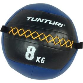 Wall Balls Cross Fit Wandbälle 8 kg blau Gewichtsball Tunturi 463079700000 Bild-Nr. 1