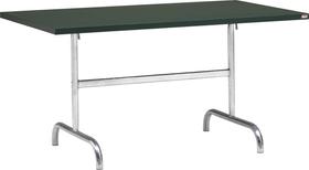 SÄNTIS Table pilante Schaffner 408009700063 Dimensions L: 140.0 cm x P: 80.0 cm x H: 72.0 cm Couleur Vert foncé Photo no. 1