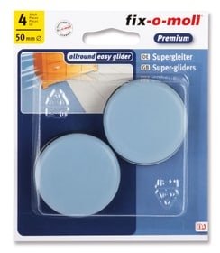 Universalgleiter 5 mm / Ø 50 mm 4 x Fix-O-Moll 607078100000 Bild Nr. 1