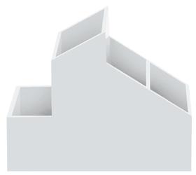Skyline white 1tlg Sistema contenitore spirella 675270400000 N. figura 1