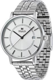 DAILY TIME Stahl Armbanduhr Armbanduhr M Watch 76071680000015 Bild Nr. 1