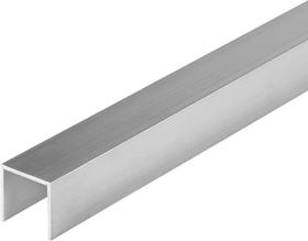 U-Profilé carré 1.5 x 23.5 mm brut 1 m alfer 605105500000 Photo no. 1