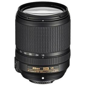 AF-S DX 18-140mm F3.5-5.6 G ED VR Objectif Nikon 785300125544 Photo no. 1