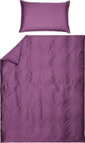 PENELOPE Federa per cuscino raso 451196510945 Colore Melanzana Dimensioni L: 100.0 cm x A: 65.0 cm N. figura 1