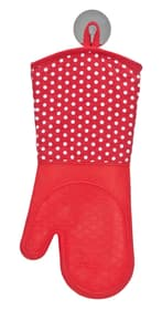 Guanti da cucina rosso in cotone e silicone WENKO 674071000000 N. figura 1