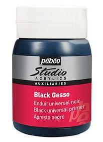 Acrylic Gesso schwarz Pebeo 663555400000 Bild Nr. 1