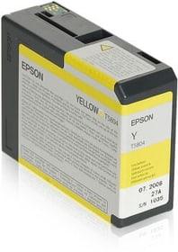 T5804 yellow Tintenpatrone Epson 798282300000 Bild Nr. 1