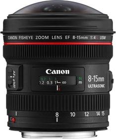 Fisheye EF 8-15mm f / 4.0L USM Objektiv Canon 785300129150 Bild Nr. 1
