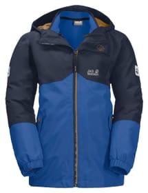 Iceland Kinder Trekking 3in1 Jacke Jack Wolfskin 466933712840 Grösse 128 Farbe blau Bild-Nr. 1