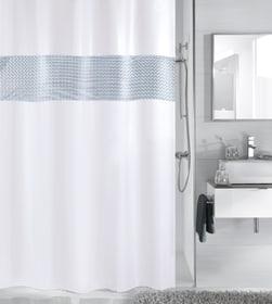 Tenda da doccia Twin 180x200cm Kleine Wolke 675245300000 N. figura 1