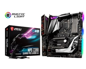 MPG Z390 GAMING PRO CARBON AC Mainboard MSI 785300139914 Bild Nr. 1