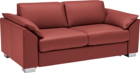 OPUS Canapé-lit 402931700000 Dimensions L: 176.0 cm x P: 204.0 cm x H: 82.0 cm Couleur Rouge Photo no. 1