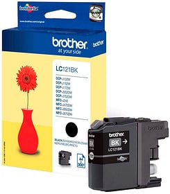 Tintenpatrone LC-121BK schwarz Tintenpatrone Brother 795822200000 Bild Nr. 1