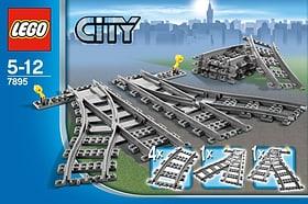 LEGO City Les aiguillages 7895