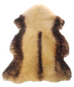 Pelle d'agnello beige 105 x 65 cm Coprisedile 621314300000 N. figura 1