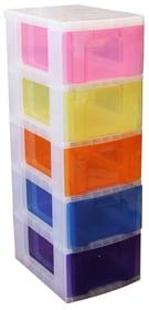 Schubladenelement 5 x 12 L Schubladenturm Really Useful Box 603724200000 Bild Nr. 1