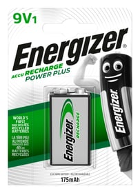 Power Plus 9V 175 mAh 1 pièce accu Akku Batterie Energizer 704732300000 Photo no. 1