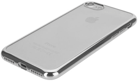 Flex Case Chromed Edge iPhone 6/6S/7/8 silber