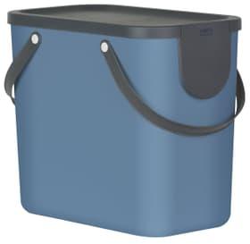 Système de bacs de recyclage 25 l  ALBULA Rotho 604133300000 Couleur Bleu Fonce Photo no. 1