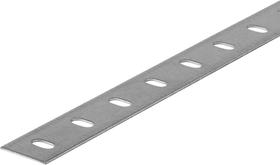 Flachstange 1.2 x 23.5 mm gelocht  verzinkt 1 m alfer 605113000000 Bild Nr. 1