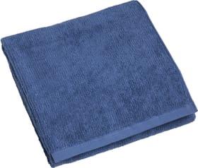 EVITA Linge de bain 450861120643 Dimensions L: 100.0 cm x H: 150.0 cm Couleur Bleu foncé Photo no. 1